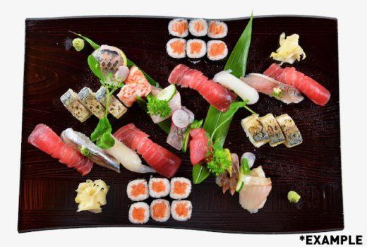 Sushi & sashimi platter